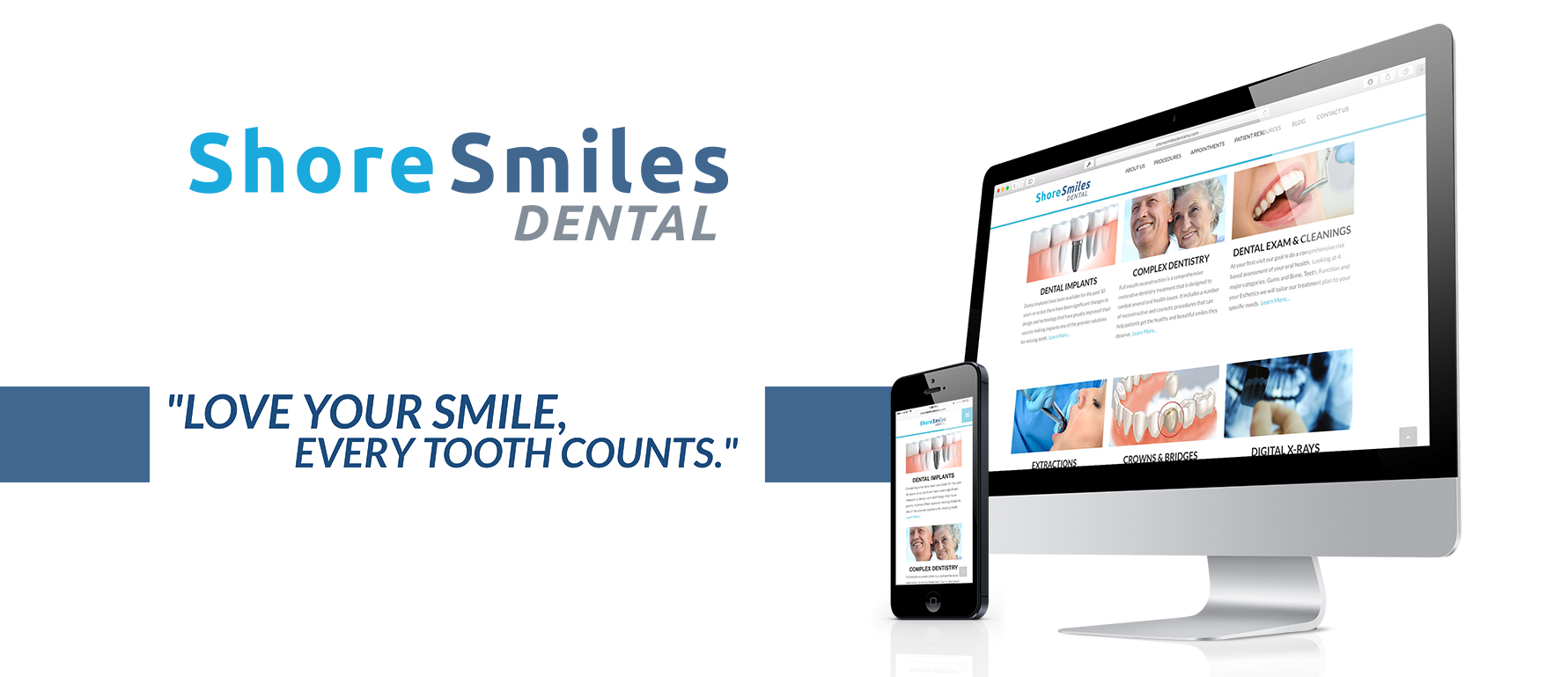 Shore Smiles Dental Responsive Website